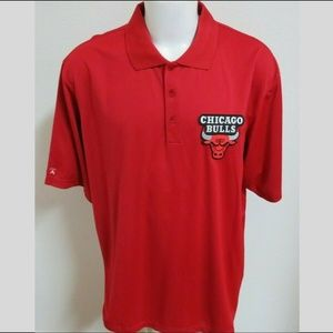 2XL Red Antigua Men db Polyester #88E Polo